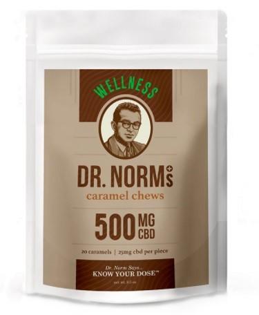 Dr Norms Wellness CBD Caramel Chews