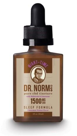Dr Norms Wellness CBD Night Time Sleep Formula CBD Oil