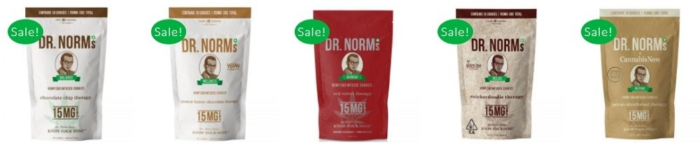 Dr Norms Wellness CBD Therapy Cookies