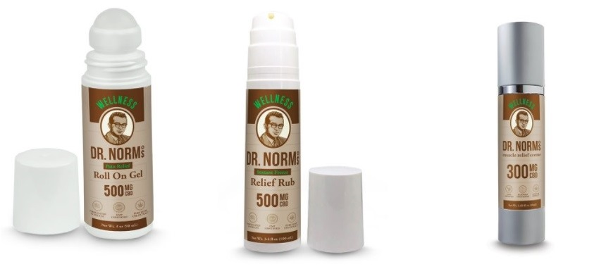Dr Norms Wellness CBD Topicals