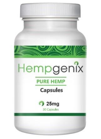 Hempgenix CBD Capsules