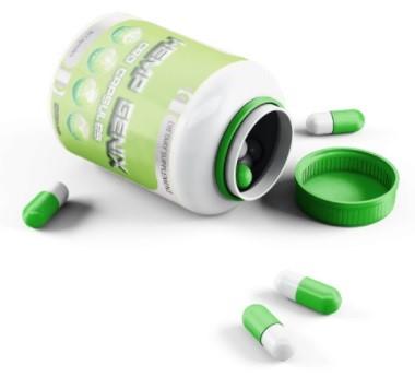 Hempgenix CBD Isolate Powder CBD Capsules