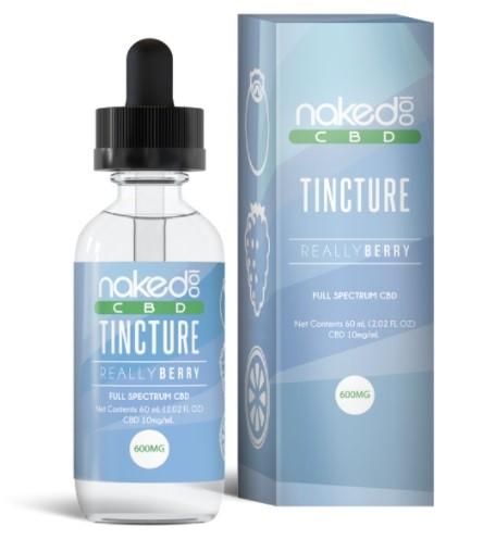 Naked 100 Really Berry CBD Oil