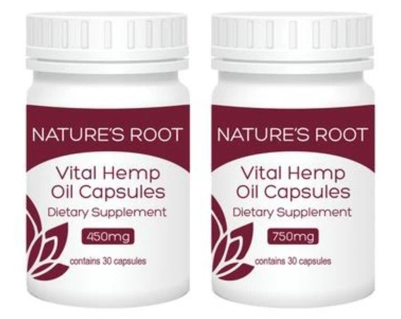 Natures Root CBD Capsules