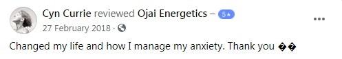 Ojai Energetics Customer Review 5