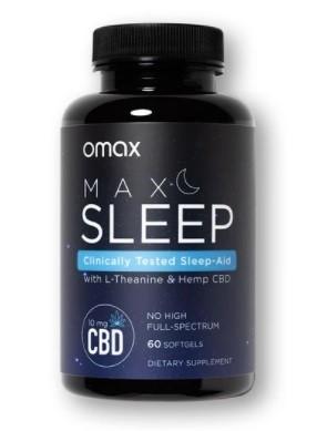 Omax Health CBD Sleep Capsules