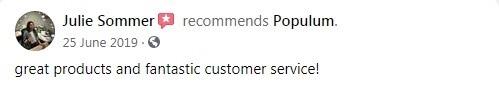 Populum CBD Customer Review
