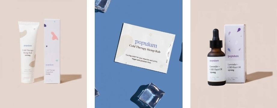 Populum CBD Skin Products