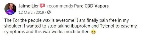 Pure CBD Vapors Customer Review 6