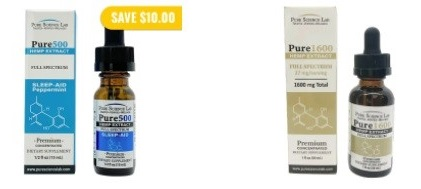 Pure Science Lab Full Spectrum CBD Oil