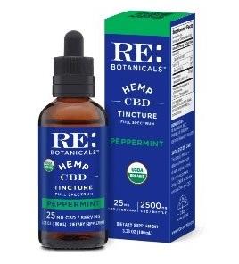 RE Botanicals CBD Peppermint Oil