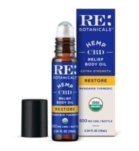 RE Botanicals CBD Relief Body Oil