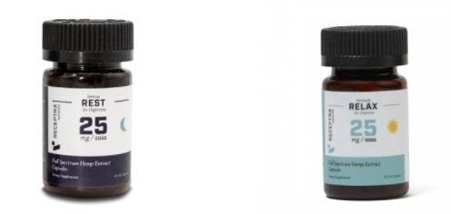 Receptra Naturals CBD Capsules