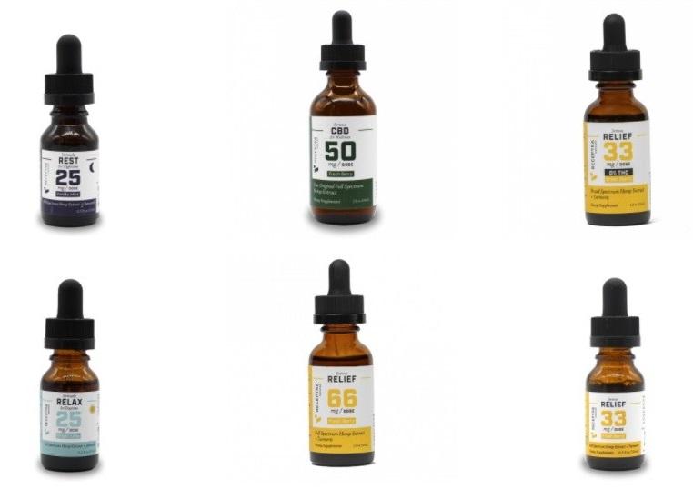 Receptra Naturals CBD Tinctures and Oils