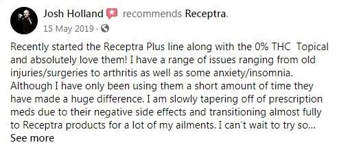 Receptra Naturals Customer Review 2