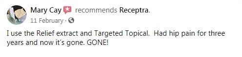 Receptra Naturals Customer Review 6