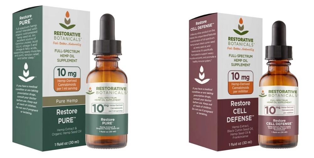 Restorative Botanicals CBD Oil