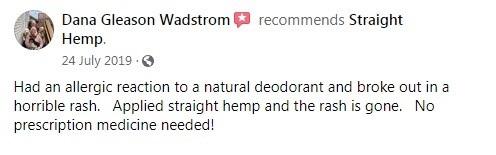 Straight Hemp Customer Review 4