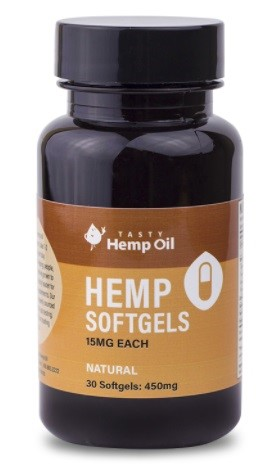 Tasty Hemp Oil CBD Capsules