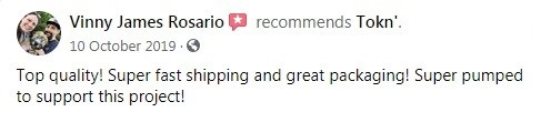 Tokn Customer Review 5