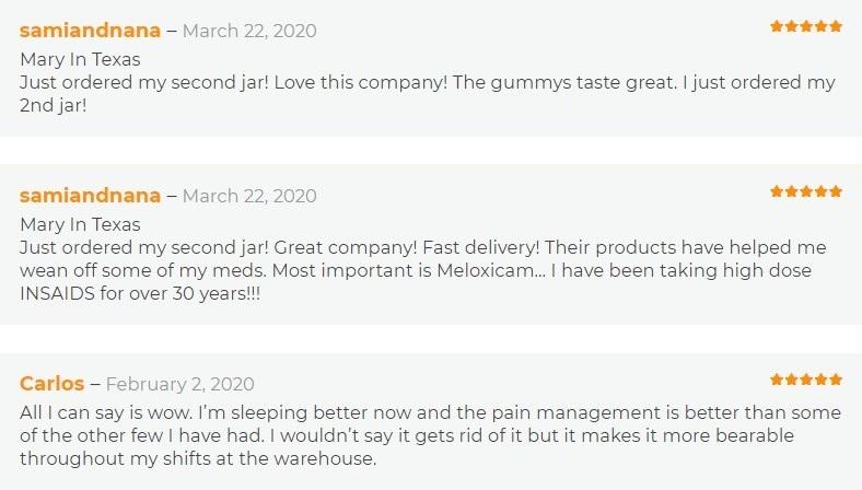 Absolute Nature CBD Gummies Customer Reviews
