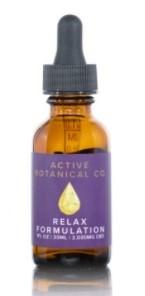 Active Botanical Co CBD Relax CBD Oil