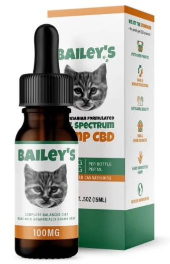 Baileys CBD Oil For Cats