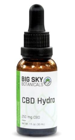 Big Sky Botanicals CBD Hydro Oil