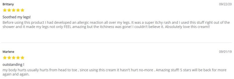 CBD American Shaman CBD Topicals Customer Reviews