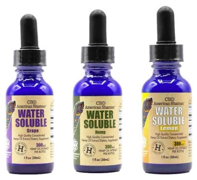 CBD American Shaman CBD Water Soluble Full Spectrum Hemp Oil