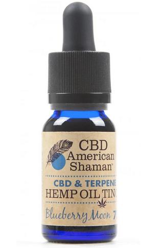 CBD American Shaman CBD and Terpene Hemp Oil Tincture
