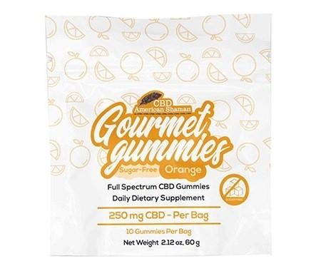 CBD American Shaman Sugar Free CBD Gourmet Gummies