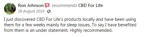 CBD For Life Customer Review 4