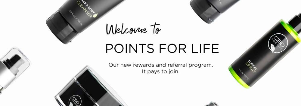 CBD For Life Rewards Program