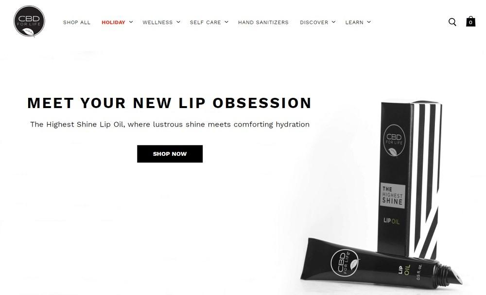 CBD For Life Website