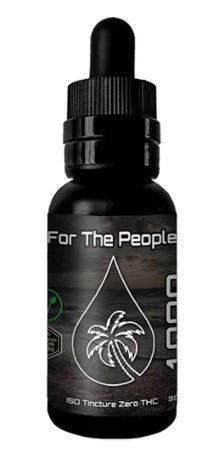 CBD For The People CBD Isolate Tincture