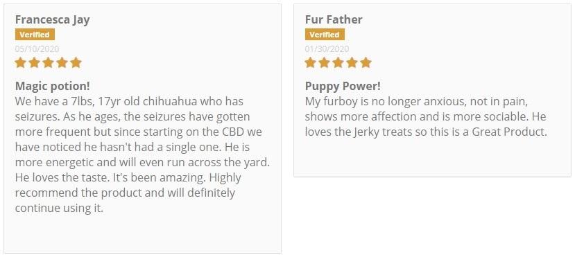 CBD GoldLine CBD For Pets Customer Reviews