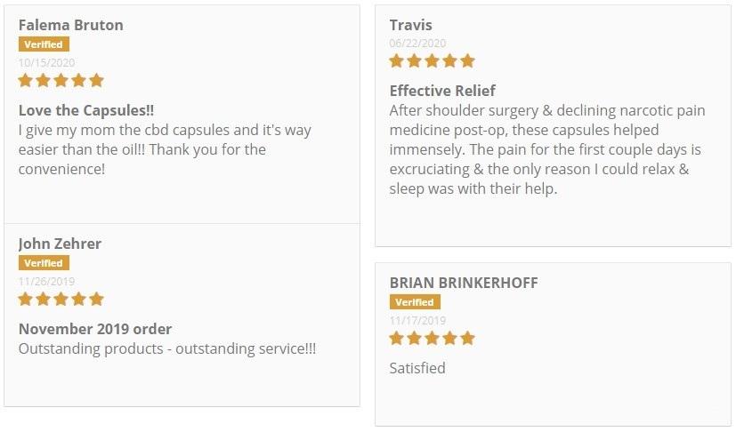 CBD GoldLine CBD Powder Customer Reviews