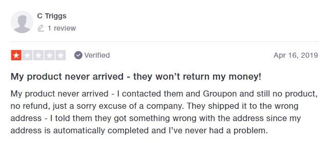 CBD GoldLine Customer Review 2