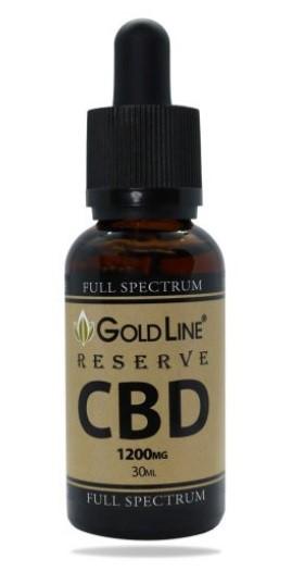 CBD GoldLine Full Spectrum Reserve CBD Oil