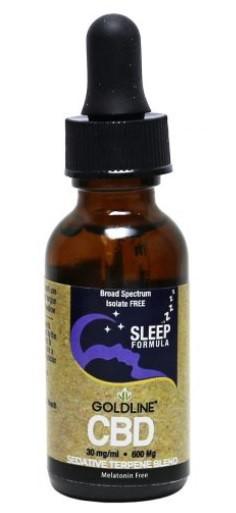 CBD GoldLine Sleep CBD Oil