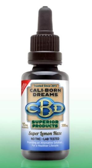 Cali Born Dreams CBD Oil