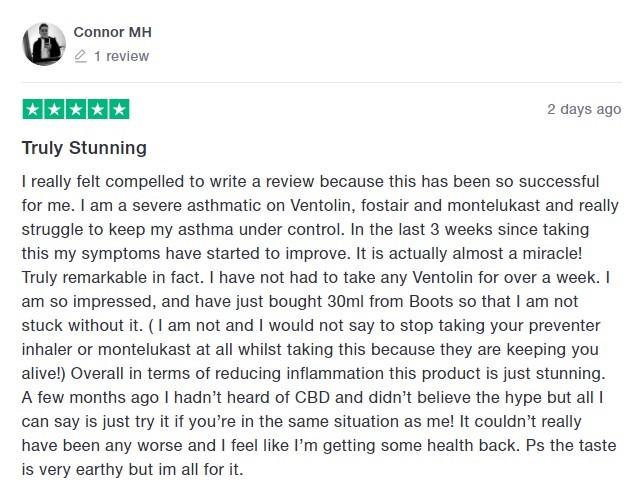 Dragonfly CBD Customer Review 3