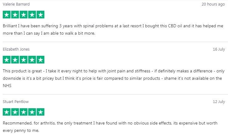 Dragonfly CBD Oil Customer Reviews