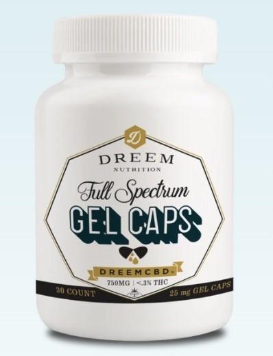 Dreem Nutrition CBD Capsules