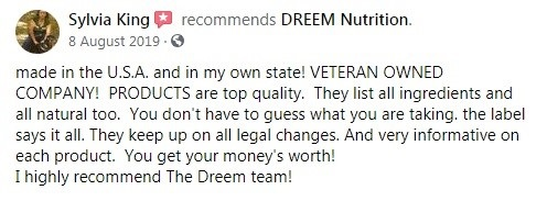 Dreem Nutrition CBD Customer Review 4