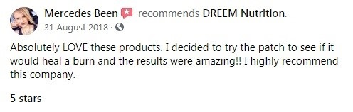 Dreem Nutrition CBD Customer Review 6