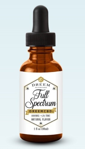 Dreem Nutrition CBD Oil
