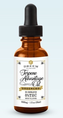 Dreem Nutrition CBD Terpene Advantage Oil