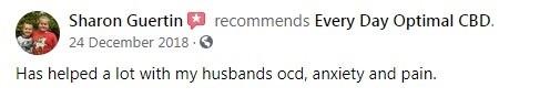 Every Day Optimal CBD Customer Review 4